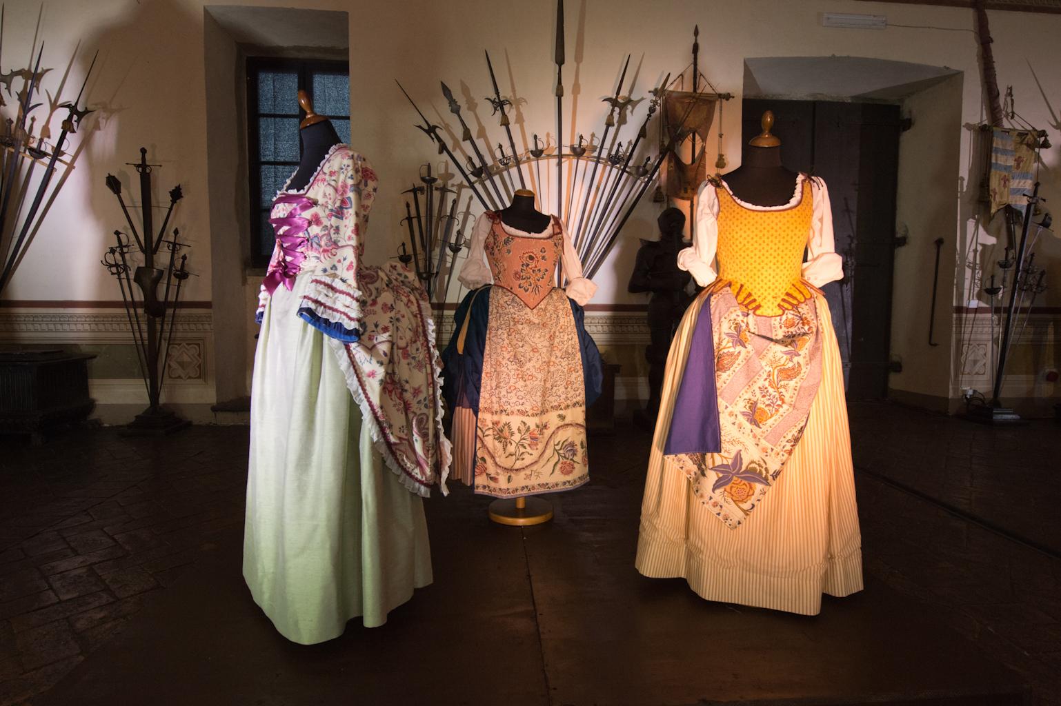 Il 700 Sala delle Armi - costumi di A.M. Heinreich